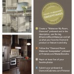 WIN NEW CABINETS FOR YOUR HOME! FREE ROOM MAKEOVER SWEEPSTAKES BY DIAMOND CABINETS