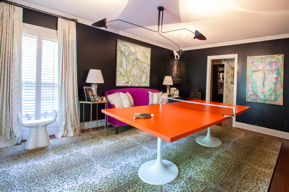 One Room Challenge Spring 2015: The Ping Pong Emporium Reveal / The English Room
