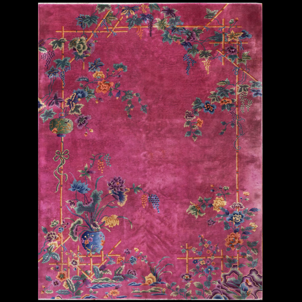 Chinese - Art Deco Rugs_Chinese_Pink_China_21517