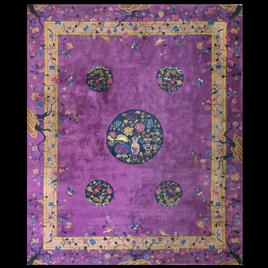 Chinese - Art Deco Rugs_Chinese_Purple_China_22417