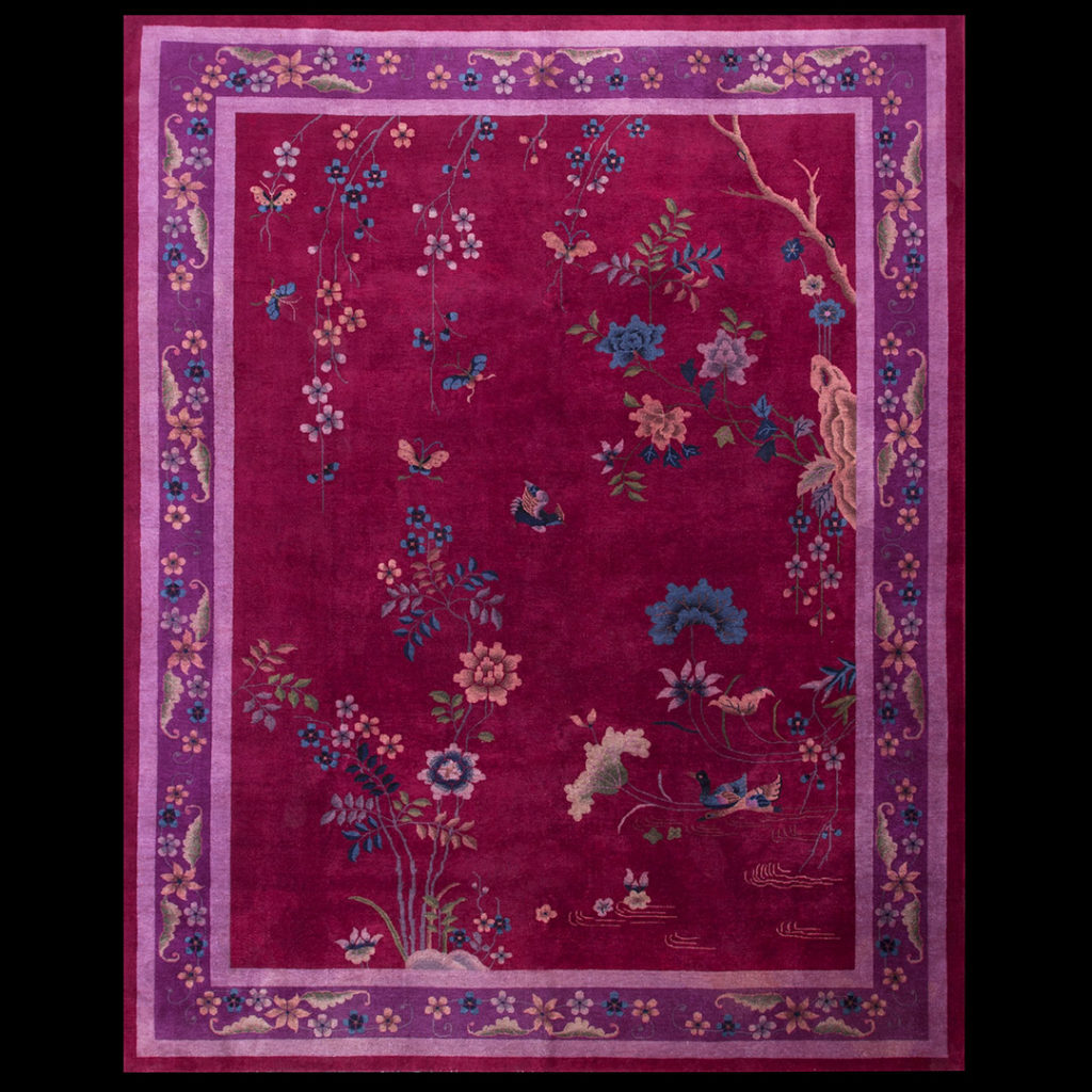 Chinese - Art Deco Rugs_Chinese_Red_China_40-2479